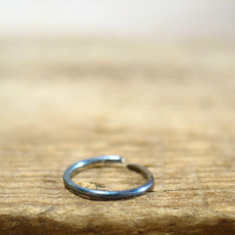 Nose Ring Niobium Endless Rainbow Plain Products