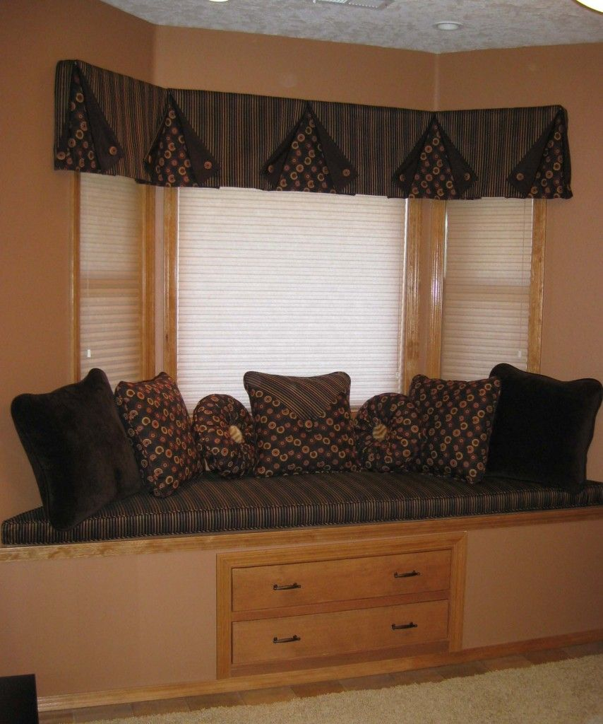 living room window valance ideas%0A Tent Flap Valance