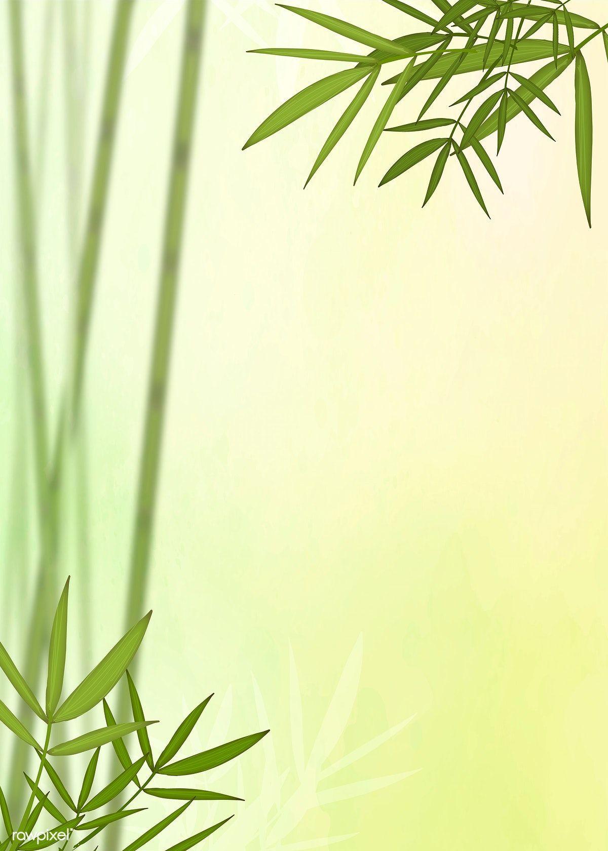 Baground Hijau Daun : baground, hijau, Bamboo, Elements, Green, Background, Image, Rawpixel.com, Hijau,, Daun,, Bambu