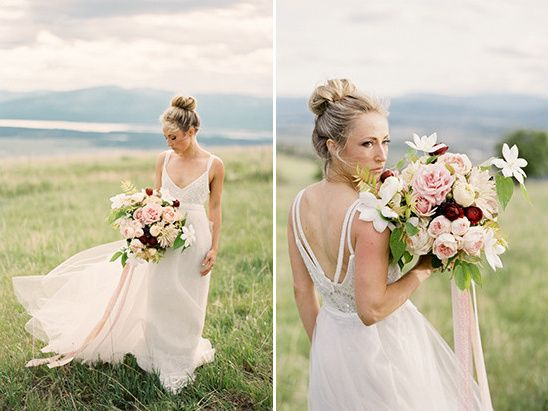 How To Have An Elegant Rustic Outdoor Wedding And Theia Bridal