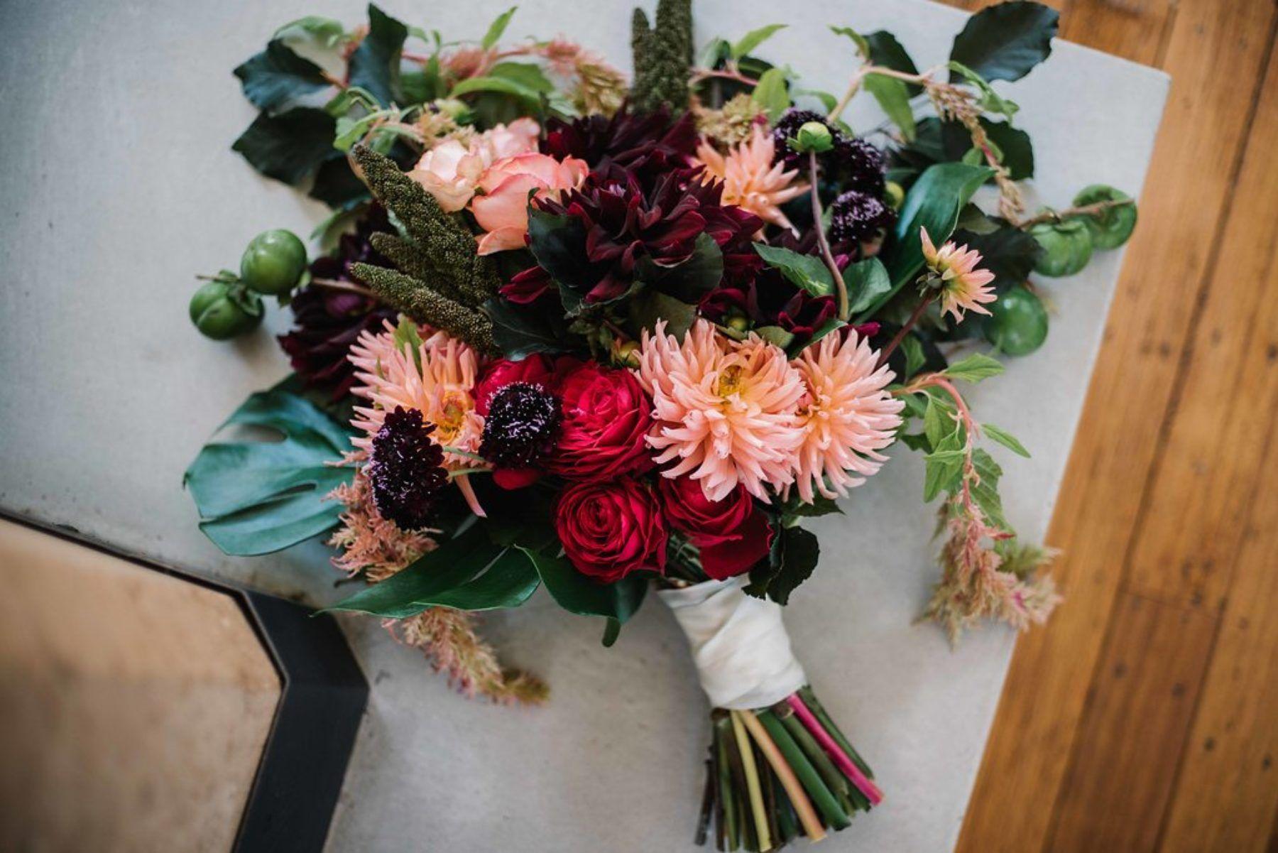 Amy's wedding dress  Giles u Amyus Glam Echuca Wedding  Bridal bouquets Florists and