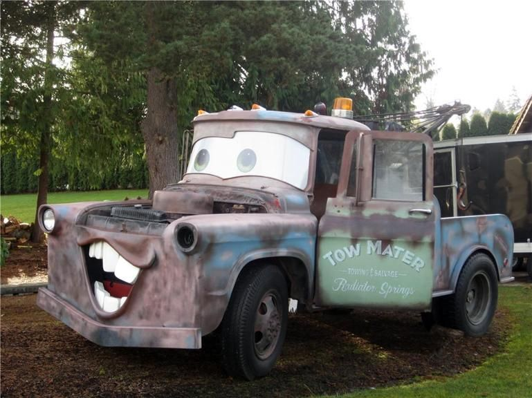 sunday drive one of these things is not like the others tow mater rh za pinterest com