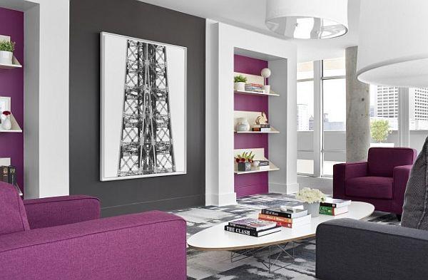 decorating with purple purple rooms designs interior decorating rh pinterest com