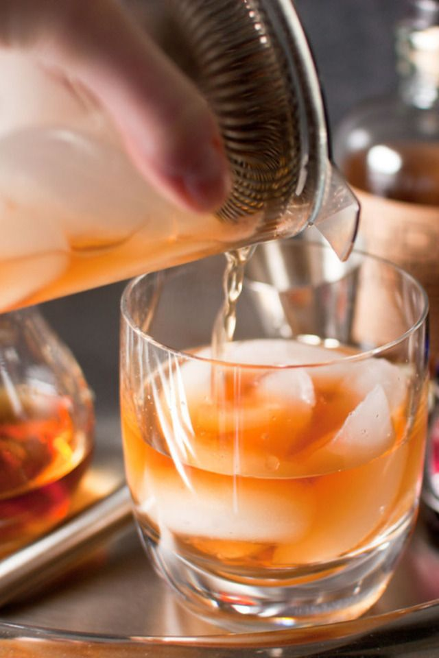 Perfect old fashioned cocktail 31