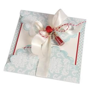 Scallop Tri-Fold Card