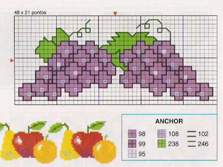 Barrados - ALEGRIA ARTESANAL - Picasa Web Albums...A FREE COLLECTION OF CROSS STITCH CHARTS..159 pages