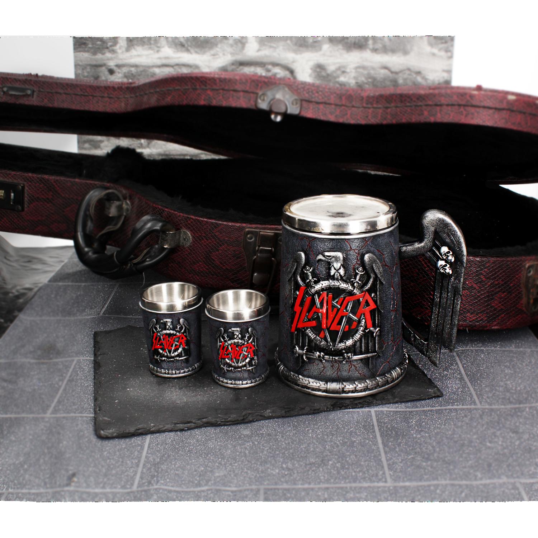 Nemesis Now B4121M8 Motorhead Tankard Mug 14cm Black Resin w//Stainless Steel Insert