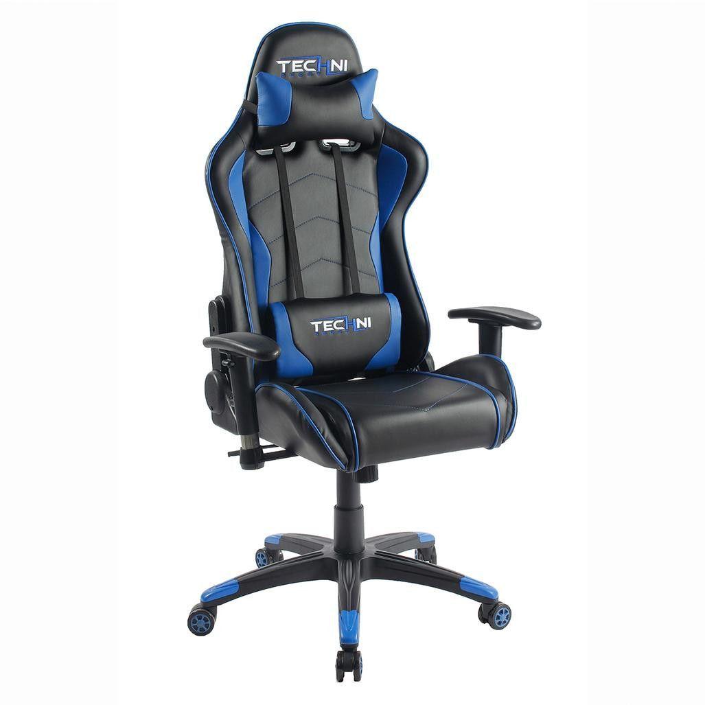 ts48 blue gaming chair game room chair gaming desk chair pc rh pinterest com