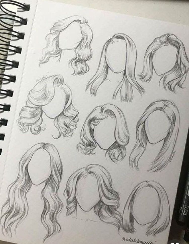 Pin By Dennise On Drawing Sketches How To Draw Hair Art Drawings