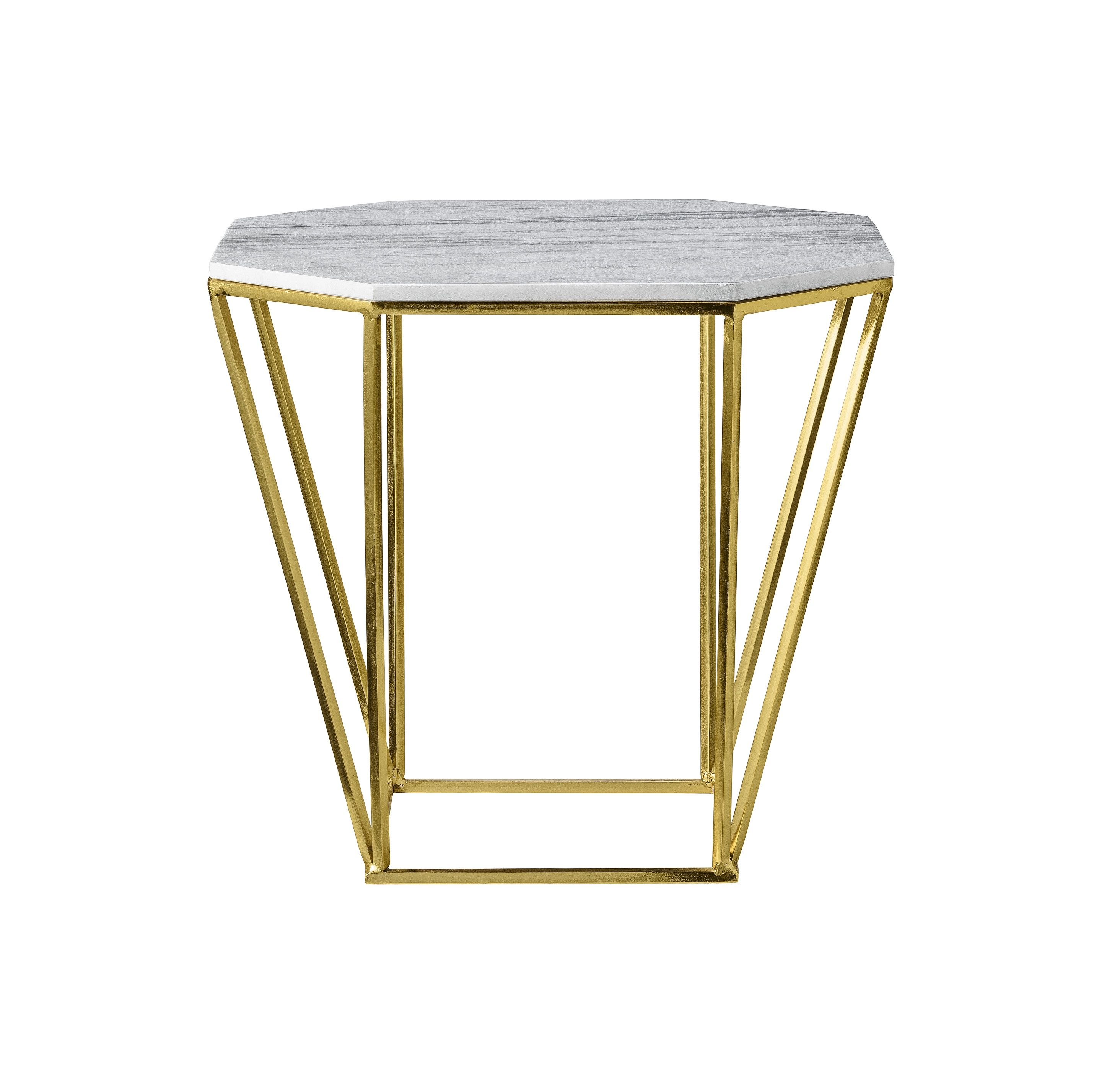 Couchtisch METRIC Metall Marmor gold | my home is my castle ...