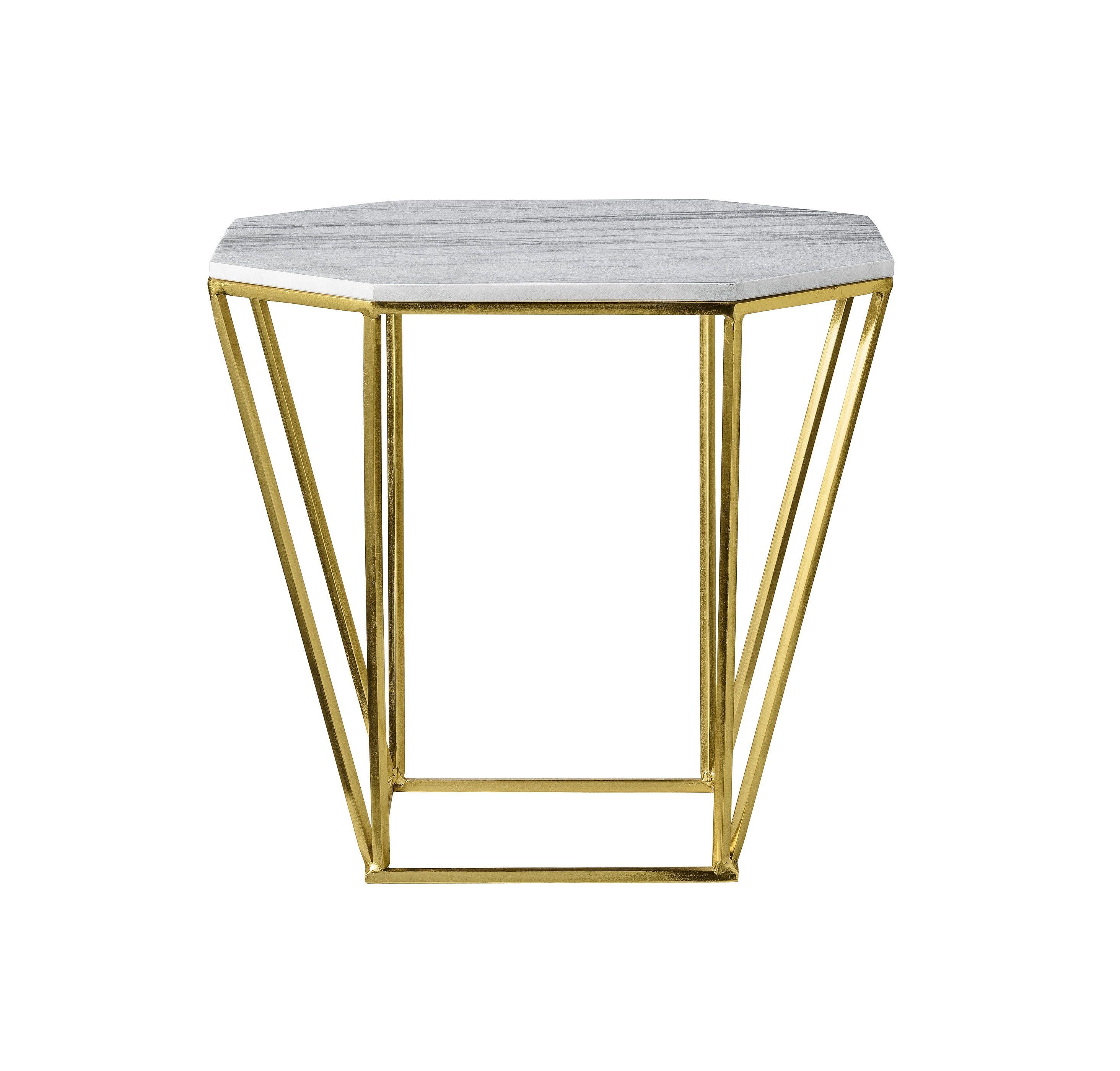 Beistelltisch Marmor couchtisch metric metall marmor gold my home is my castle