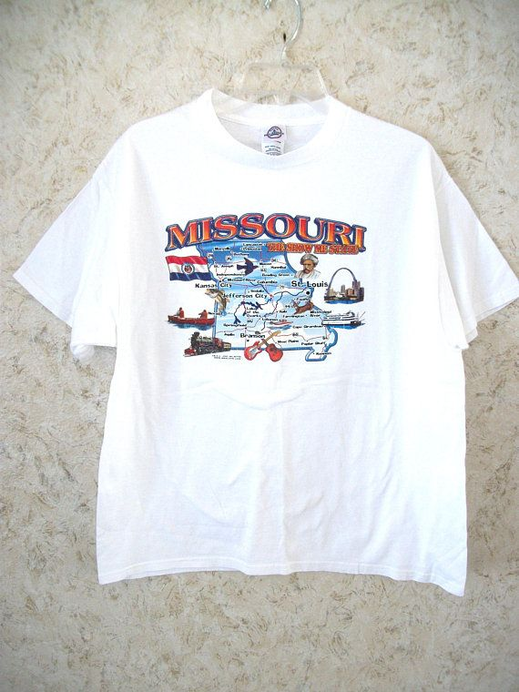 Vintage 80's Mickey mouse St. Louis Tourism tee