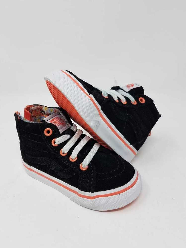 1f3e2748b0 VANS SK8 HI MTE FLORAL POP LIVING CORAL ATHLETIC SNEAKERS TODDLER S SIZE 5  NWOB  fashion  clothing  shoes  accessories  babytoddlerclothing  babyshoes  (ebay ...