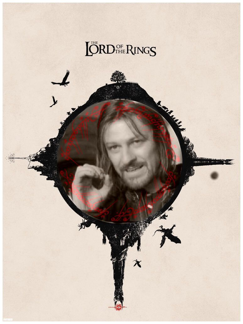 Boromir, the Lord of the Rings