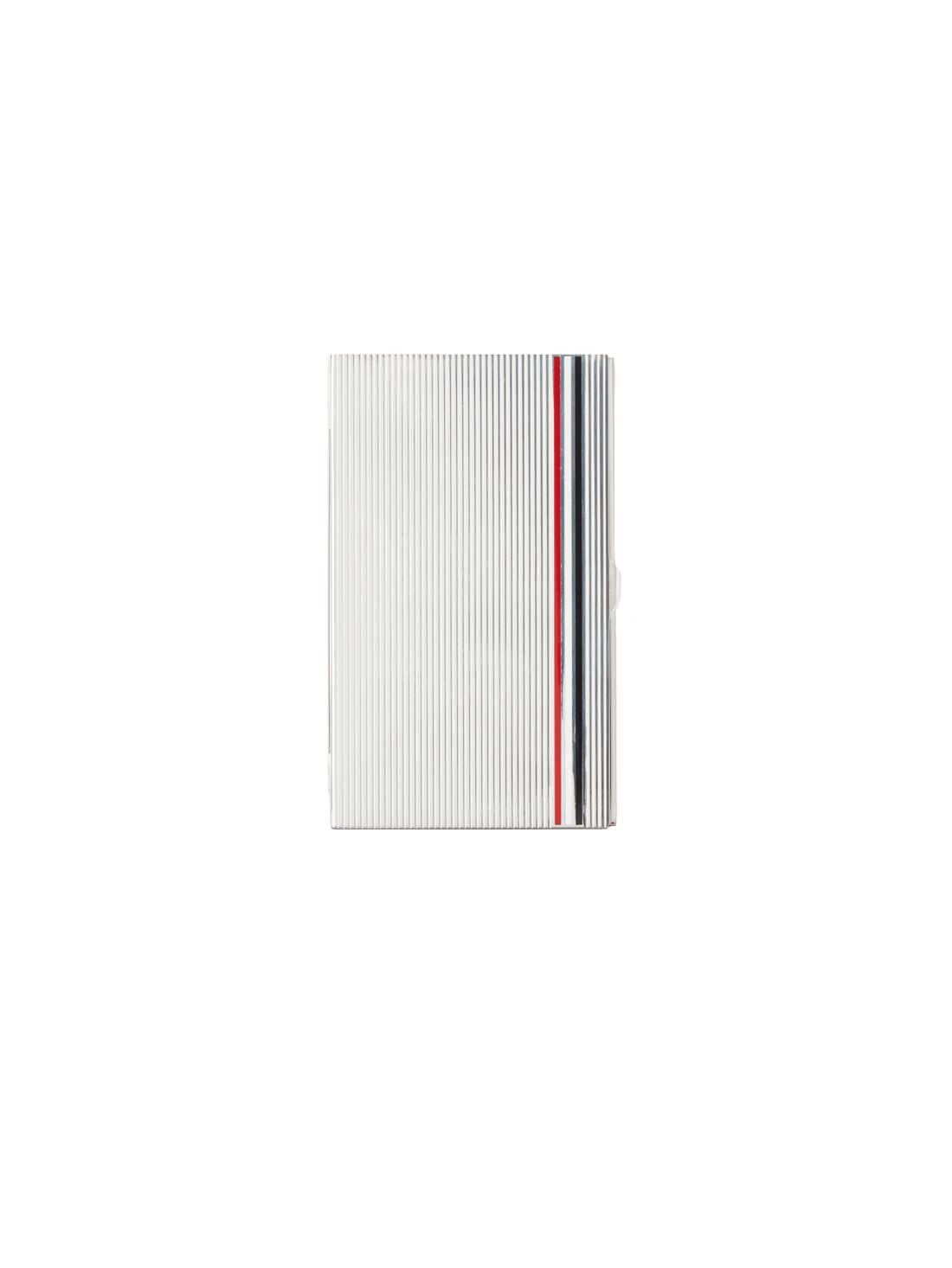 BUSINESS CARD CASE IN STERLING SILVER | Thom Browne | THOM BROWNE ...