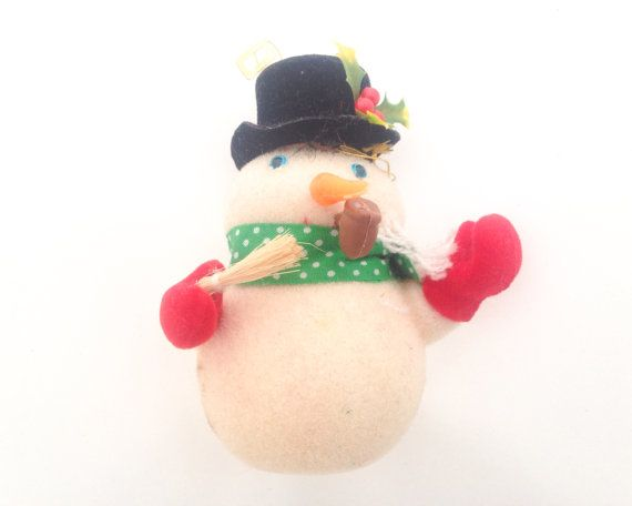 Snowman Ornament Christmas Decorations Christmas by Piefingers