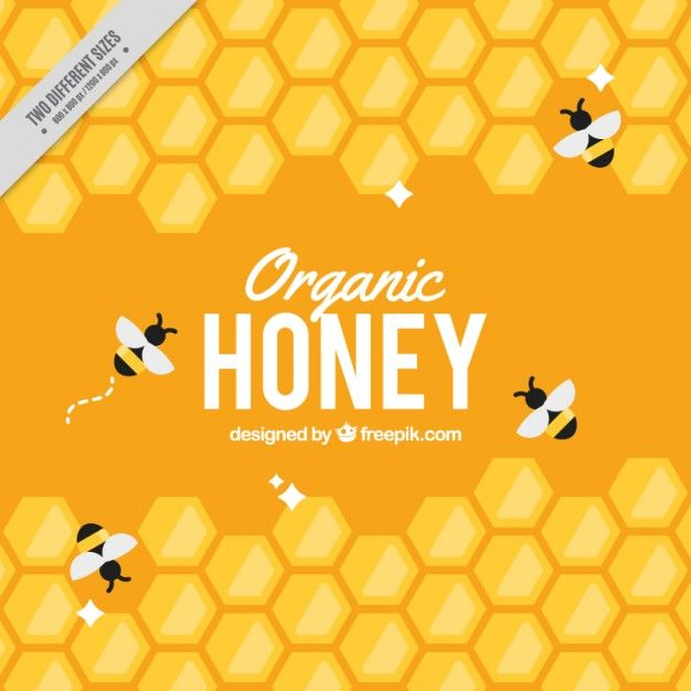 Download Yellow Hive Background With Bees For Free Honey Logo Honey Design Bee