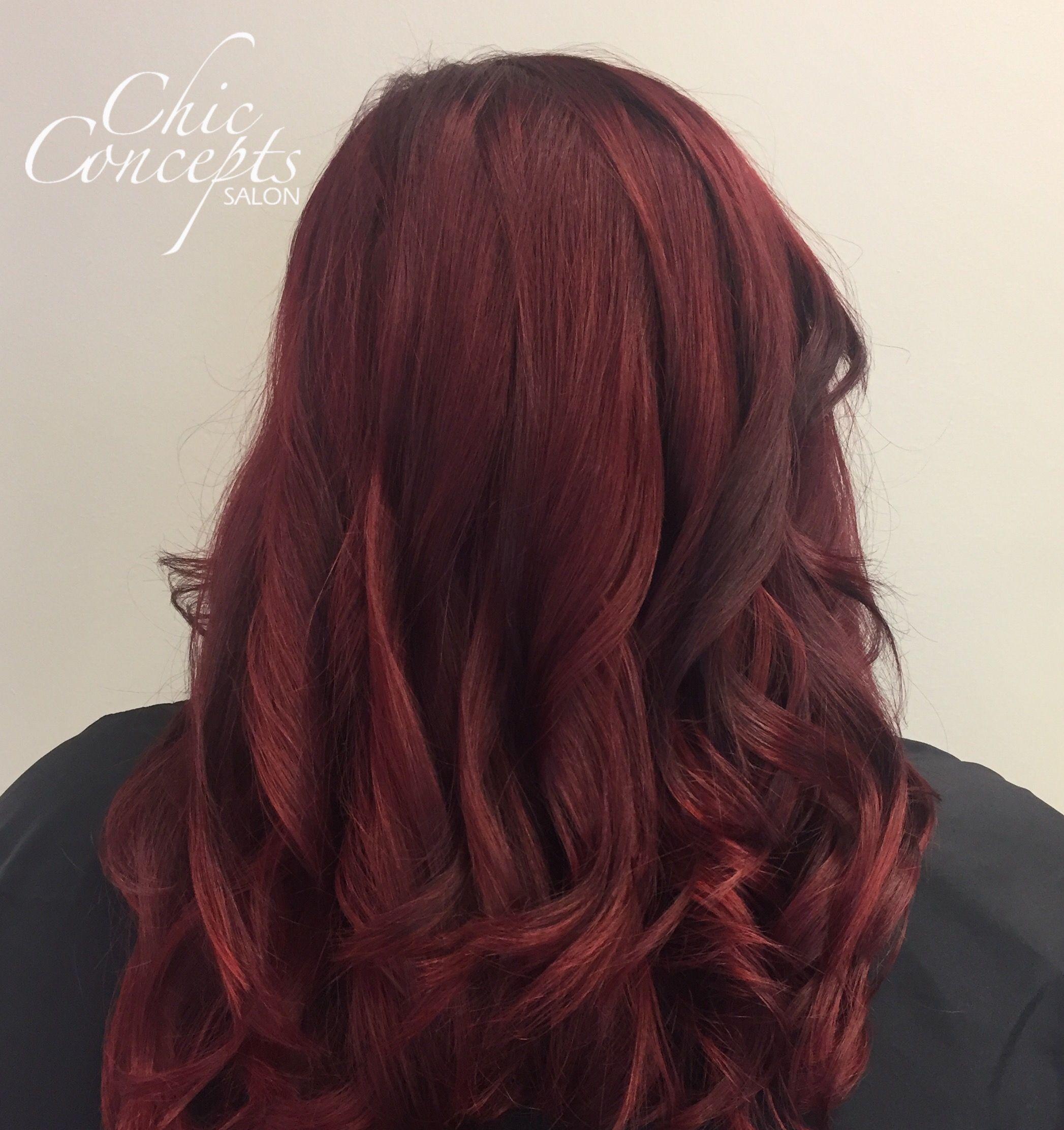 Red hair chic hair pinterest red hair