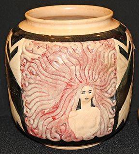 Cookie Jar Maine American Art Pottery Association Show  Maine Antique Digest