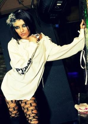 DIY spooky Insane Asylum halloween costume made with a men's white ...