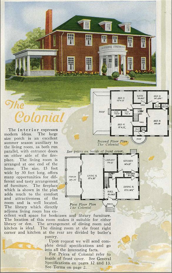 Perfect Vintage House Plan | Antique House Plans