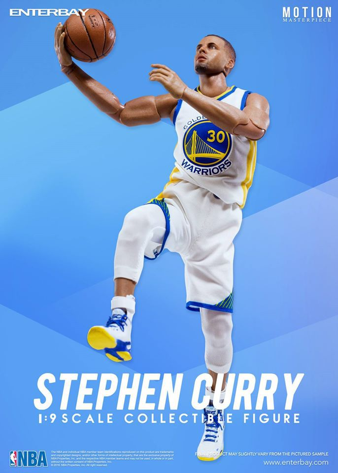 368dbebe7fb0 Stephen Curry (Golden State Warriors) 1 9th Scale 8