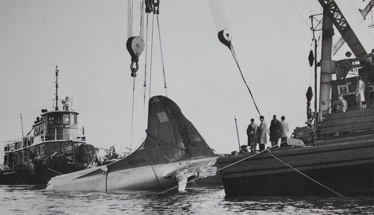 New York 3 February 1959 American Airlines Flight 320 Crashed In