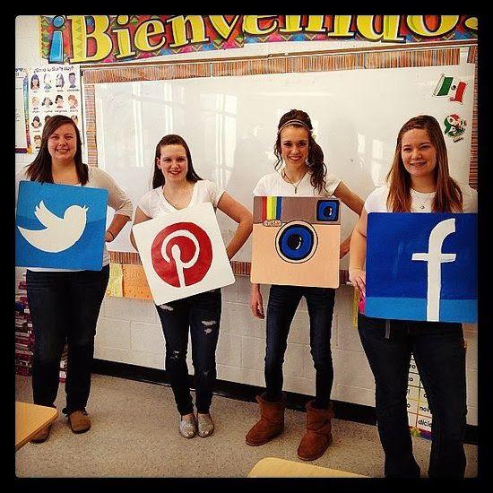 easy teacher costumes group halloween costume ideas - Halloween Group Costume Themes