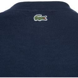 Lacoste Herren Tshirt, Regular Fit, Baumwolle, dunkelblau LacosteLacoste