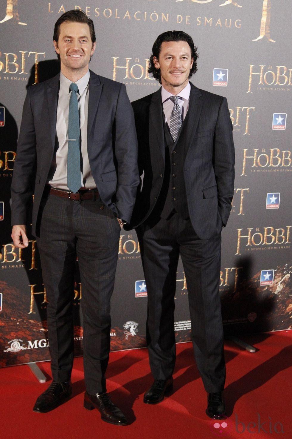 Lee Pace Luke Evans Estreno Hobbit Smaug Madrid Girlfriend ...
