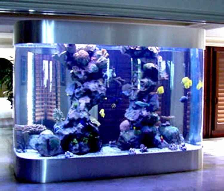 50 Beautiful Fish Aquarium Designs Favor Aquarium Aquarium