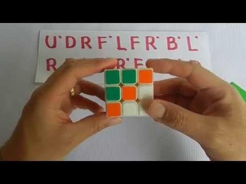 Cubo Rubik 3x3 Algoritmo Para Crear Una Figura Con El Cubo Patron 3 Cubo Rubik 3x3 Cubo Rubik Rubik