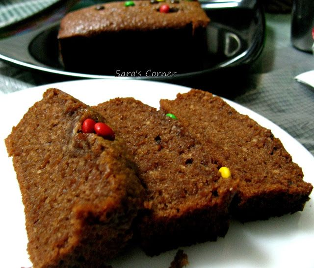 Sara S Corner Eggless Milo Cake Loaf Eggless Baking Easy Kids Recipe
