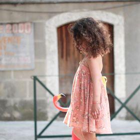 Louise Misha - Robe jazz flamingo