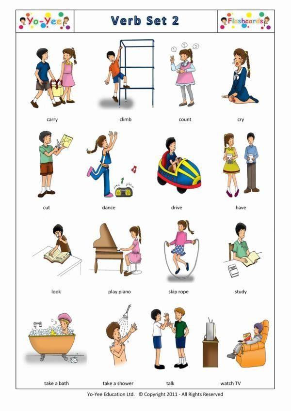 Verbs for ells teaching pinterest english learning english verbs for ells publicscrutiny Image collections