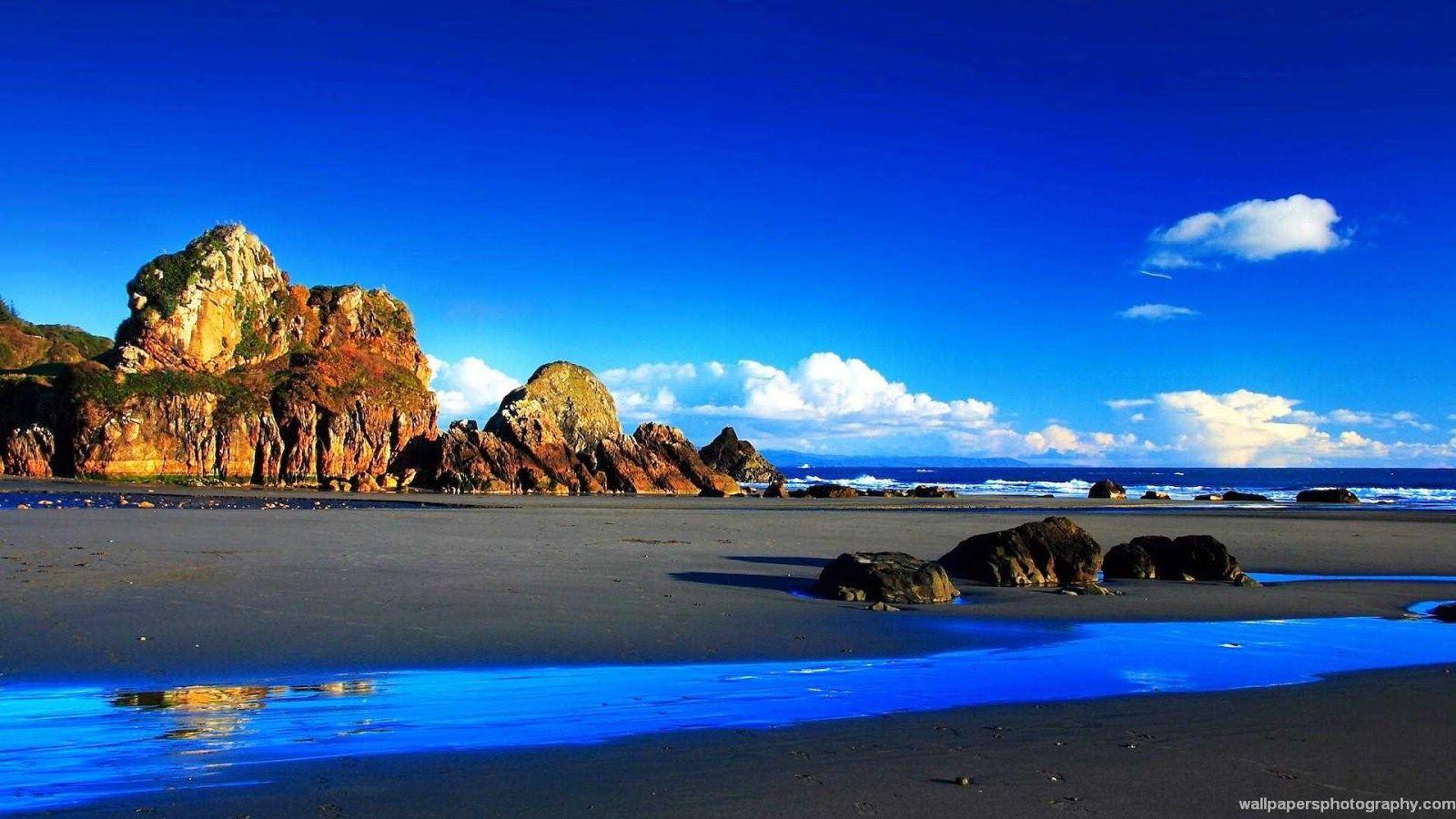 خلفيات طبيعية عالية الجودة 4k Ultra Hd Tecnologis Beach Wallpaper Landscape Wallpaper Scenery