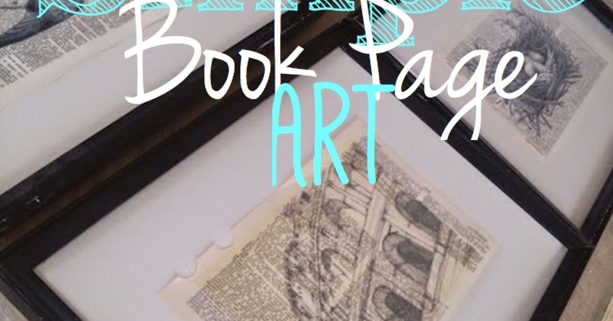 Simple, but Gorgeous Book Page Art | Dead space, Books and Book crafts