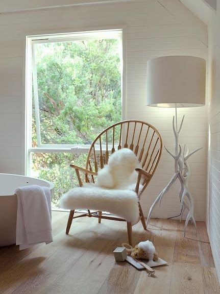 Beau Free Priority Shipping Tejn Ikea White Faux Sheepskin Rug Throw Chair Cover  NEW #IKEA