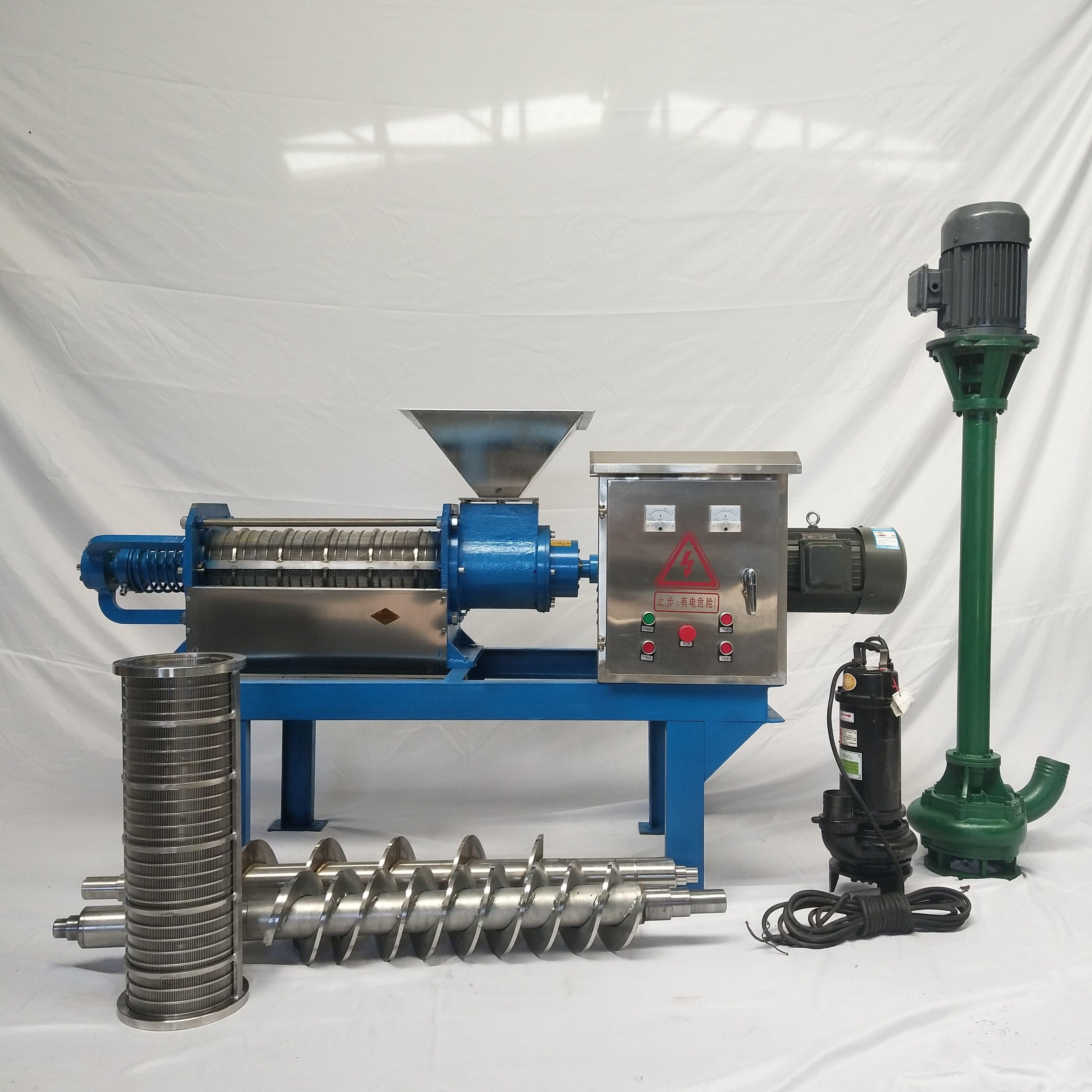 manure dewatering machine, dung separator, solid liquid