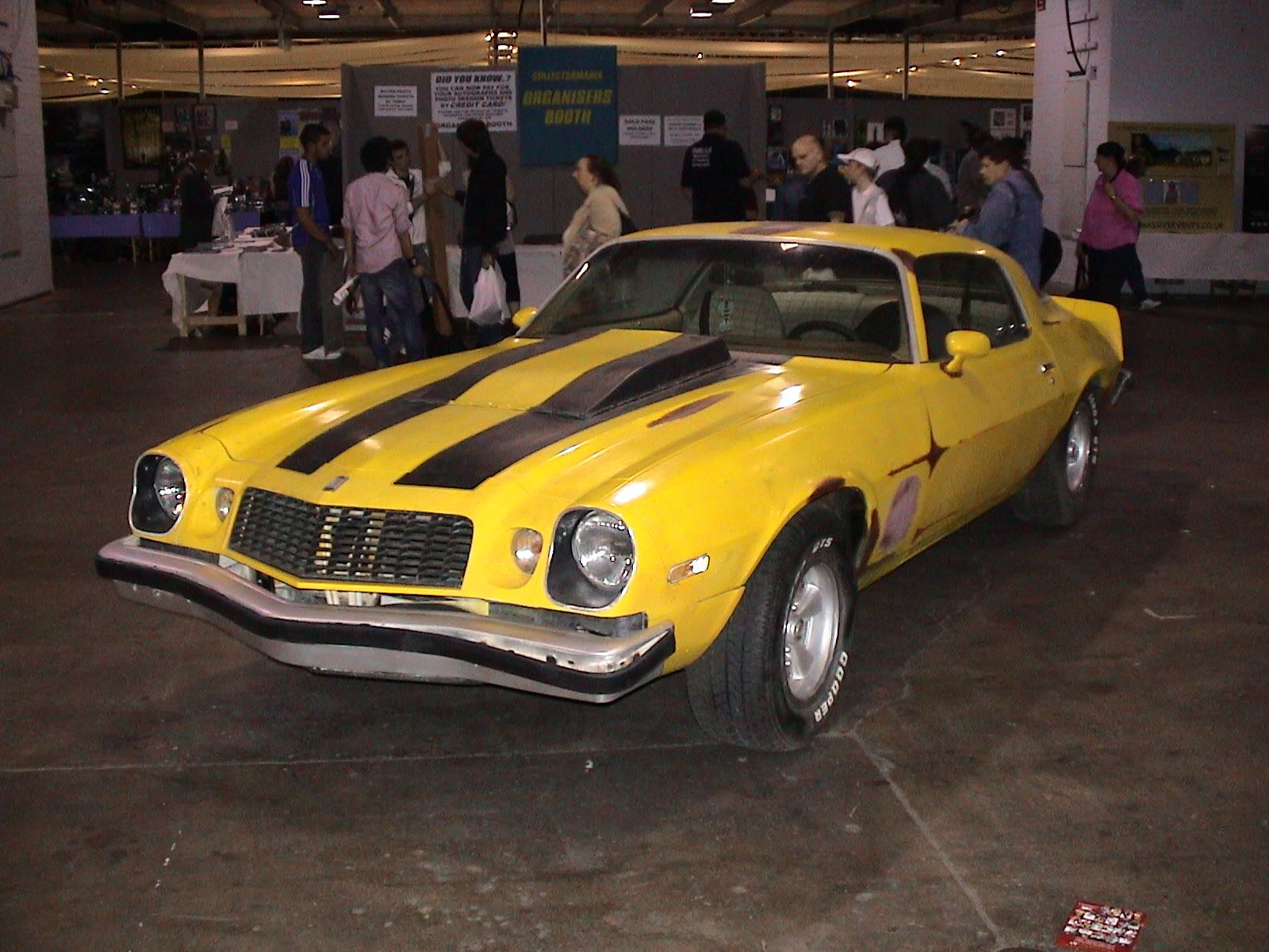 The Bumblebee Old Camaro From The New Transformers Movie