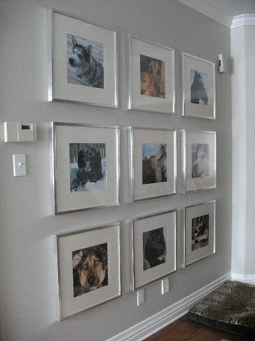 Silver Frames Large Mats Frame Wall Collage Gallery