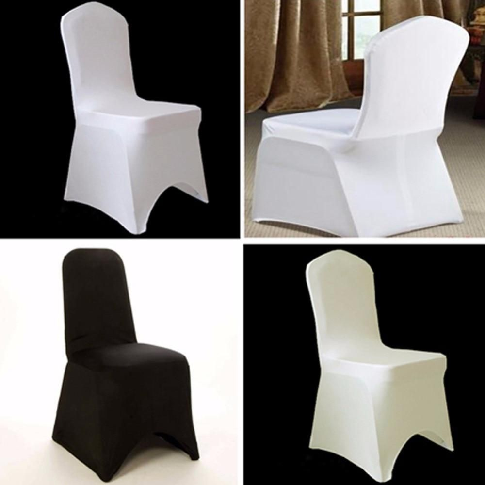 lycra chair covers nz pub height chairs target ourwarm spandex for wedding decoration kitchen housse de chaise white black ivory yesterday s price us 6 99 10