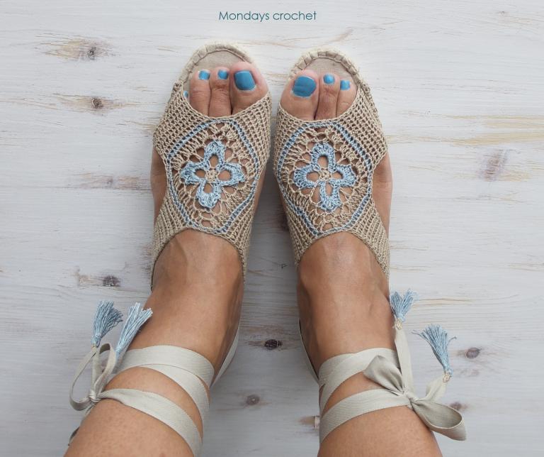 ALPARGATAS DE CROCHET | | Sapatos, Sapatilhas e Acessórios