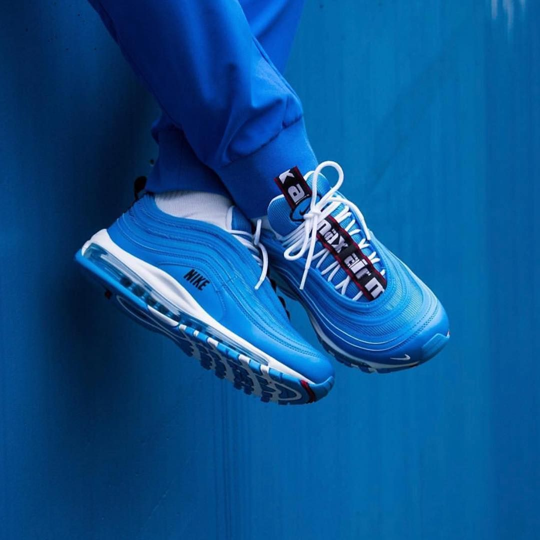 "cheap for discount 9053c 11d23 Nike Air Max 97 ""Blue Hero"", 11 19 2018 . . . . . . . .  atatf  hypebeast   sneakernews  streetfashion  luxuryfashion  kicksonfire  atlanta…"