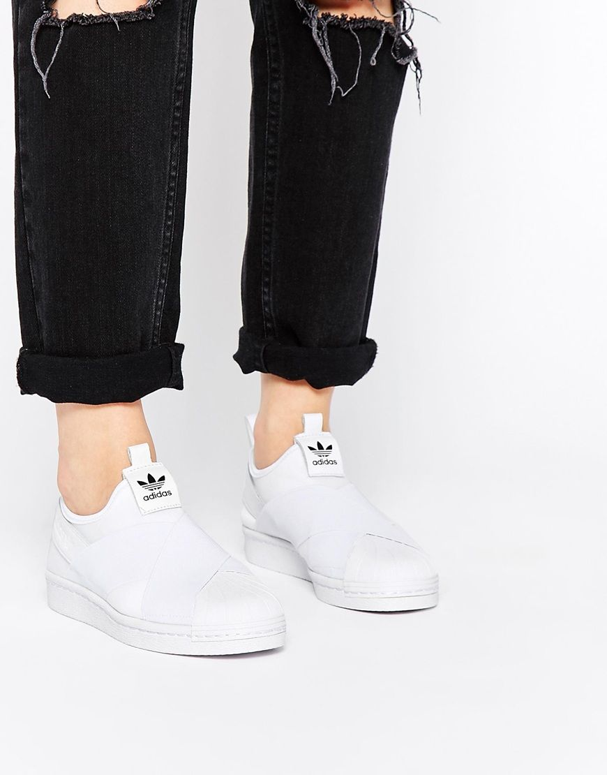 adidas superstar slip on men cheap