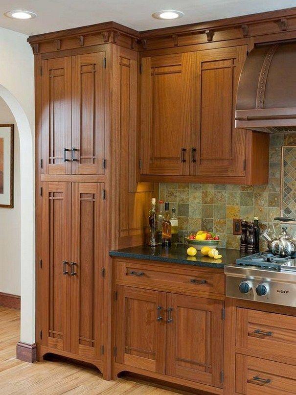 101 awesome craftsman kitchen design ideas (39) | Rusticas, Cocinas ...