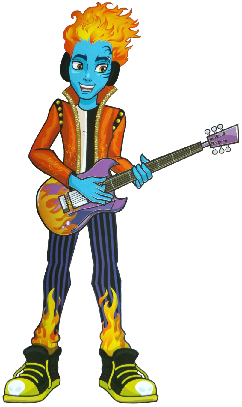 Monster high holt hyde holt hyde is the son of mr and - Monster high jackson ...