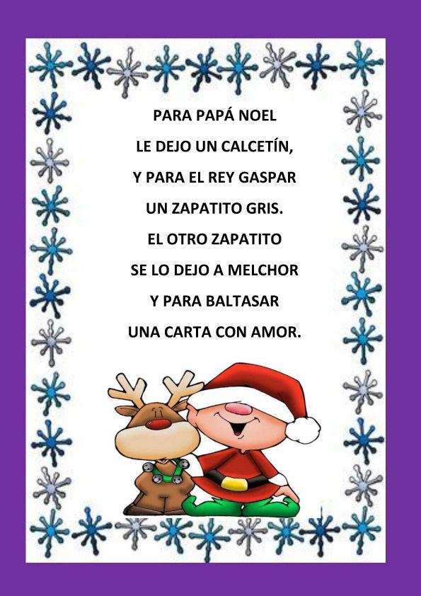 encuentra este pin y muchos ms en navidad de macascio poesias navideas para nios