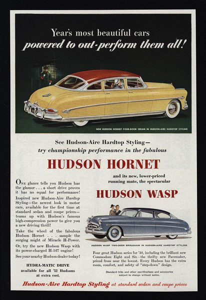 details about 1952 yellow hudson hornet 4 door sedan. Black Bedroom Furniture Sets. Home Design Ideas