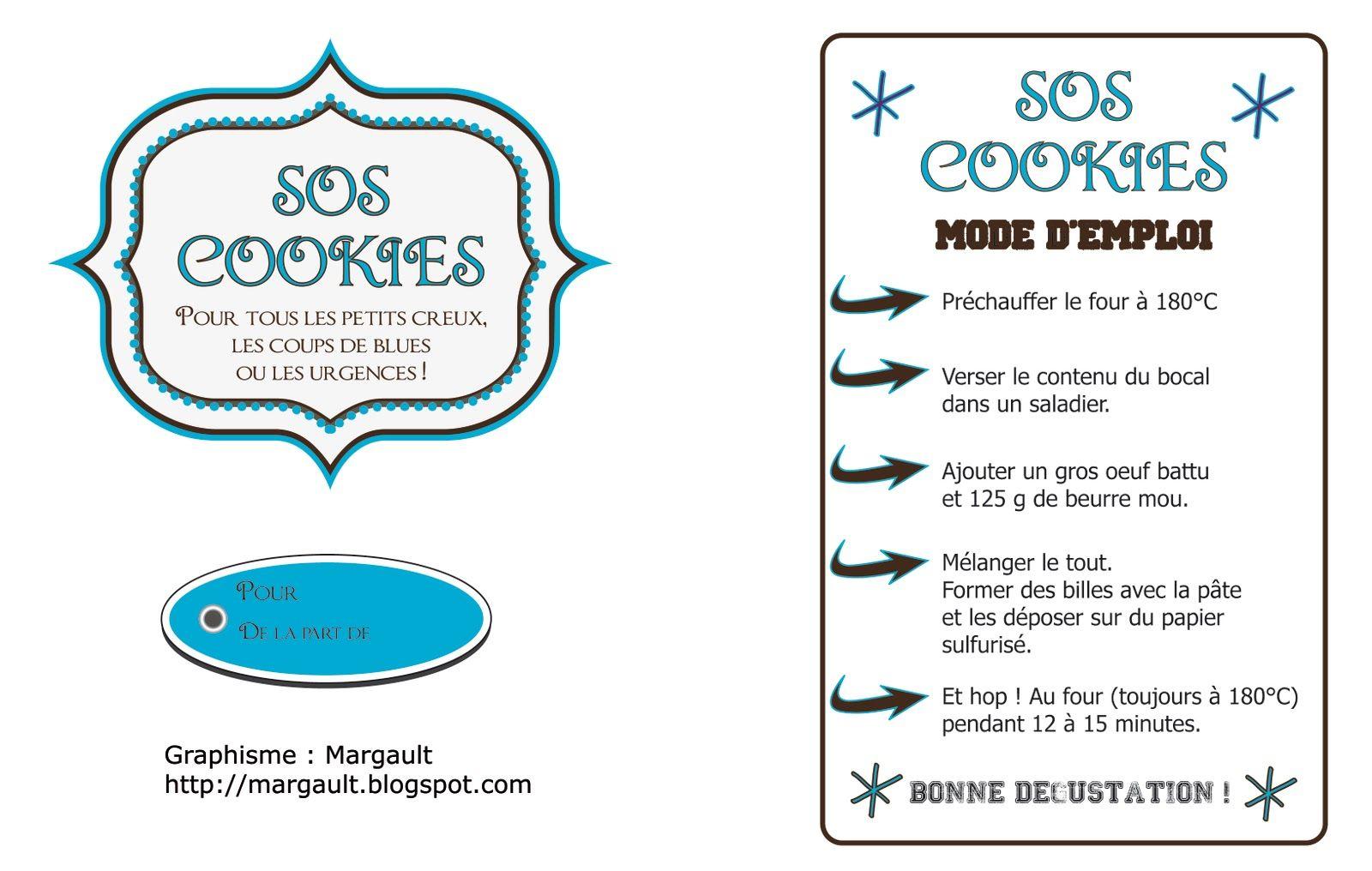 Super Y'a Maman à la maison: SOS Cookies - Kdo maison #diy #noel | Noël  WB56